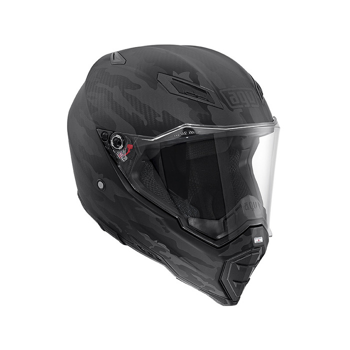 AGV AX-8 Evo Naked Carbon Helmet   Motorcycle Accessories